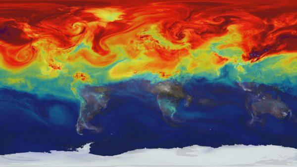 Wizualizacja wpływu człowieka na bilans energetyczny Ziemi