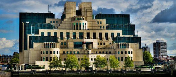 Siedziba brytyjskiego wywiadu - MI6 - w Londynie