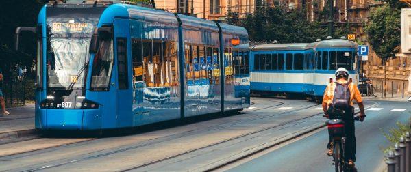 Tramwaje w Krakowie/ transport publiczny