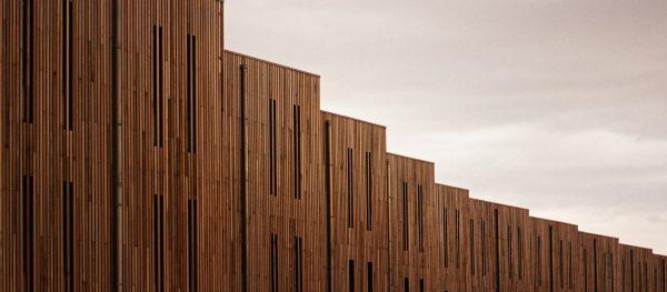 Villa Heokholland, jeden z przykładów ekologicznej architektury drewnianej w Europie