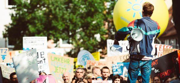 Protest klimatyczny w Niemczech